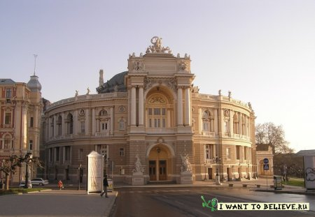 Мистика Одесского оперного театра