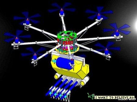 Совет тиранам: для разгона оппозиции можно применять дроны c пейнтбольными шариками